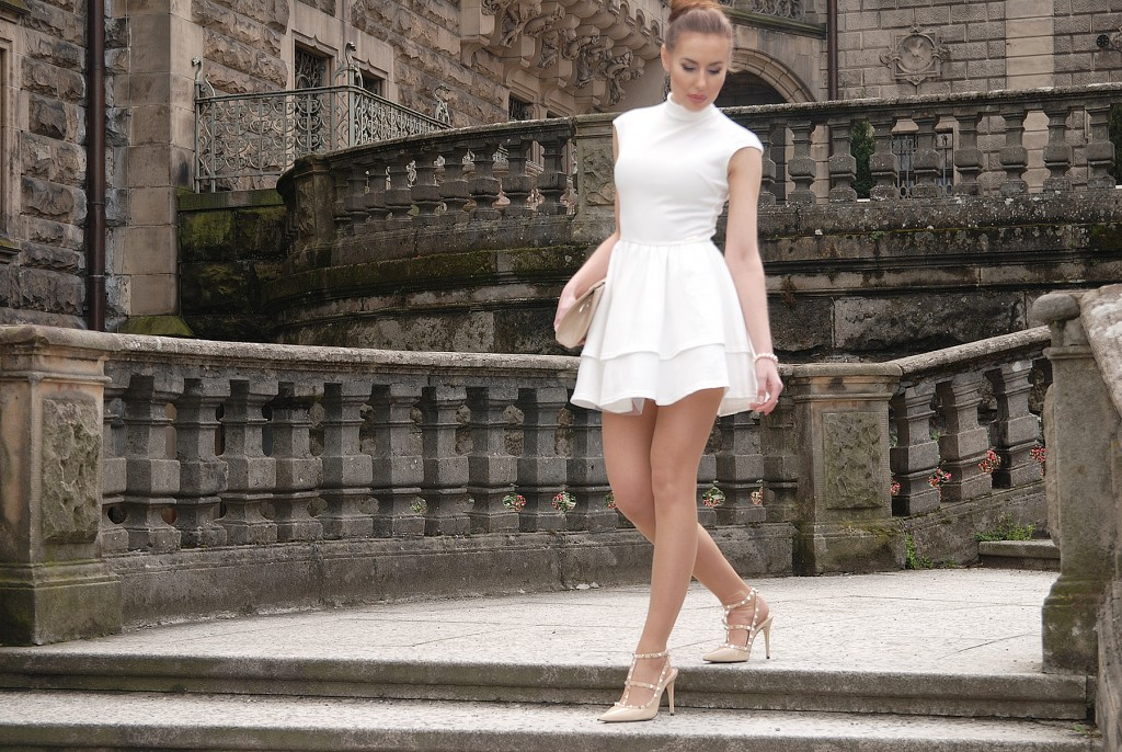 little white dress Ivon sklep